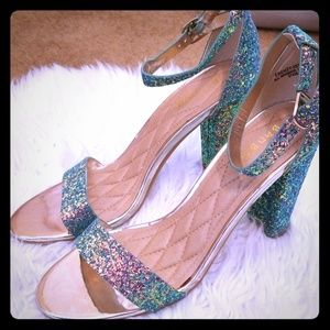 Glitter shoes size 9